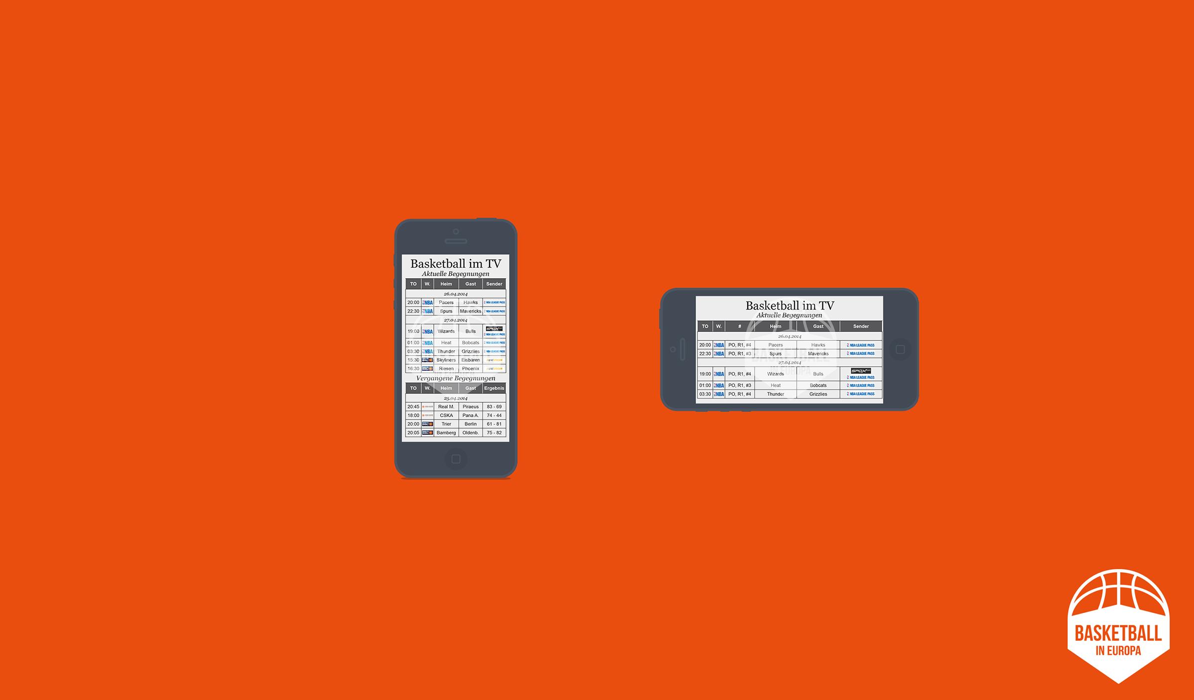 TV-Planer Smartphone Version (Um diese in Orginalgröße betrachten zu können bitte auf die Grafik klicken.)